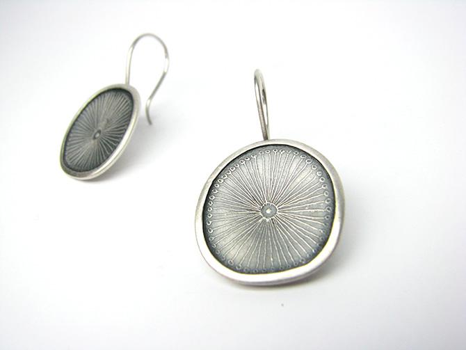Earrings: Silver