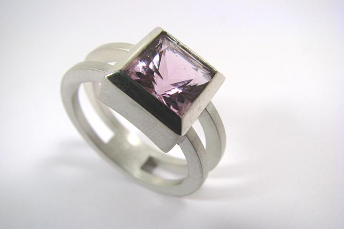 Ring: Amethyst & Silver